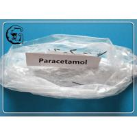China Paracetamol  White Raw Pain Killer Powder for Reducing Fever and Relieving Pain CAS 103-90-2 on sale