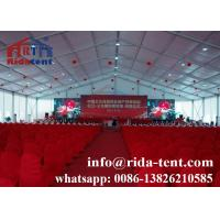 Canvas Waterproof Wedding Tents , High Hardness Large Event Tents Manufactures