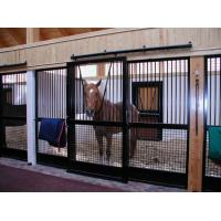 Galvanized Livestock Horse Stalls Horse Stable With Bamboo Wood Manufactures