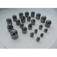 Parabolic Shape Tungsten Carbide Buttons For Medium Abrasive / Hard Formations Manufactures