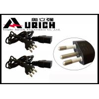 10A 250V Computer Monitor Power Cord , Brazil Home Appliance Power Cord Manufactures