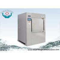 Bulk Double Door Laboratory Steam Sterilizer Autoclave 304 Stainless Steel Chamber and Jacket Manufactures