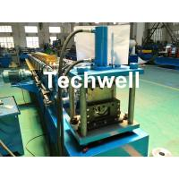 Round Gutter Roll Forming Machine With PPGI Aluminum Forming Material , 0-15m/min Manufactures