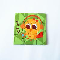 Waterproof strong fridge magnets Puzzle For Kids Toy Manufactures