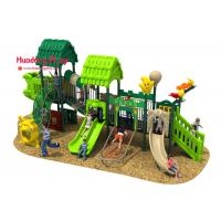 China PE Boards Children's Outdoor Playground Equipment ISO9001 Certificate Expanded Screws Fixing on sale