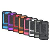 PC TPU Rugged Stand Case For Apple 4S Cell Phone , Skidproof Soft Manufactures