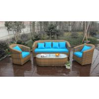 Buy cheap 5pcs outdoor wicker garden rattan sofa set high-end quality rattan sofa from wholesalers