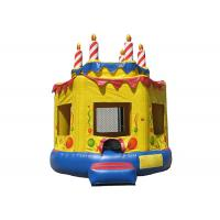 PVC Oxford Cloth Kids Garden Bouncy Castle Anti - Skid For Outdoor Sport Places Manufactures