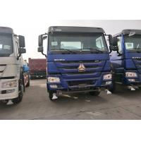 Quality SINOTRUK HOWO Heavy Dump Truck Middle Lifting System With EURO II Emission for sale