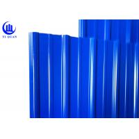 Quality Asa Coated Corrugated Plastic Spanish Roof Tiles Round Wave And Trapezoidal Roof Sheeting for sale