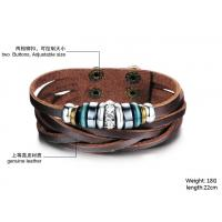 2014 Wholesale fashion jewelry leather braclet hot sales factory priceBR36 Manufactures