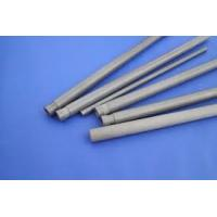 2.8g / Cm3 Silicon Nitride Tube , Si3n4 Protection Silicon Nitride Rod For Thermocouple Manufactures