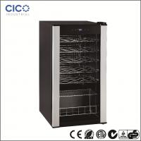 China Silvery Compressor Wine Cooler , New Air Wine Refrigerator Fashionable Looking on sale