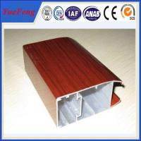 supply wooden transfer printing aluminium extrusion,thermal break aluminium window profile Manufactures