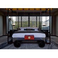 Timber Elegant Four - Poster Bed Traditional Bedroom Furniture With Step Manufactures