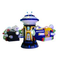 Sqv Kids Coin Operated Game Machine , Carousel Rotating Electric Kids Riding Machine Manufactures