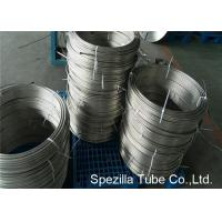 Instrumentation Stainless Steel Coil Tubing , ASTM A213 TP304 Polished Stainless Steel Pipe Manufactures
