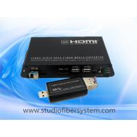 USB3.0 KVM fiber extenders for long distance expansion of the second screen and KVM control Manufactures