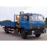 hot sale Dongfeng 4*2 LHD/RHD  5-6ton truck mounted crane (CLW5120JSQT3), dongfeng folded boom mounted on truck for sale Manufactures