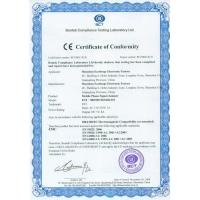 EASTLONGE ELECTRONICS(HK) CO.,LTD Certifications