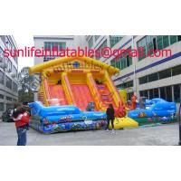 Inflatable Bouncy Castle With  Fun City And  Moonwalk Bounce For Adult And Childhood Manufactures