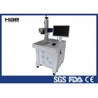 MOPA Color Fiber Laser Marking Machine For Stainless Steel / Aluminum Manufactures