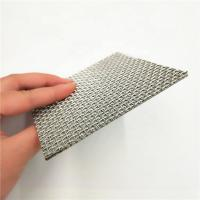 Stainless Steel 5 10 15 25 35 40um Sintered Woven Wire Mesh Filter Screen Manufactures