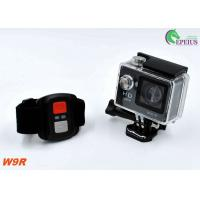 Quality Small 2.4G Remote W9R Waterproof Wifi Action Camera HD 1080P For Outdoor Sports for sale
