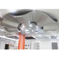 Quality Corrugated Aluminum Wall Panels / Architectural Metal Ceiling Tiles Suspended for sale