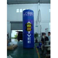 Oxford 4m Advertising Helium Balloons Custom Inflatable Pillar For Trade Show Manufactures