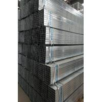 China Square And Rectangular Pre Galvanized Steel Pipe , Zinc Coating 60 - 140g/m2 on sale