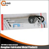 Extra long type chrome plated CR-V torx Key set Manufactures