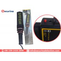 Hand Held Security Metal Detector Wand Audio Alert / LED Indicator With Three Buttons Manufactures