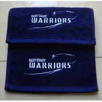 Cheap 100% cotton custom embroidered gym/sports/fitness towel with custom logo