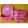 Buy cheap Girls Pink Kraft Paper Jewelry Box Personalized Glossy Lamination from wholesalers