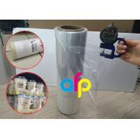 Quality Yokurt Bundle Packing Heat Shrink Plastic Film , Soft Poly Shrink Film for sale