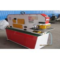 Ironworker punches , Hydraulic ironworker machine for I beam shear , angle shear Manufactures