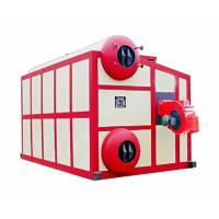 Three Pass Lpg Hot Water Boiler , Natural Gas Hot Water Furnace High Precision Manufactures