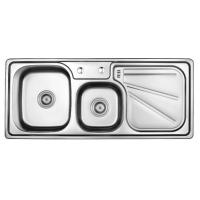 Stainless Steel Double Sink With Drain (11248) Manufactures