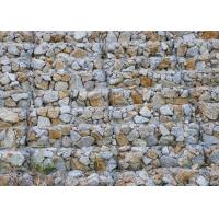 Heavy Zinc Coated Wire Rock Retaining Wall Wear Resistant Sample Available Manufactures