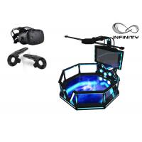 56 Inch Screen Virtual Reality Equipment , Steel Material 9D VR Game Machine Manufactures