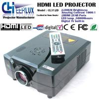 home theater led projector with digital TV built in & 2200 lumens & high resolution for home use Manufactures