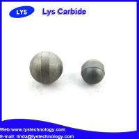 High hardness diameter carbon steel ball / cemented carbide balls Manufactures