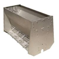 Stainless Steel Double Sided Pig Feeding Trough , Pig Water Trough Manufactures