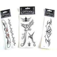 Eco-friendly temporary tattoo sticker safty customized for windows, mirror,  wall Manufactures