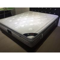 Quality Popular Natural Latex Euro Top Mattress Topper Removable for Home / Hotel for sale