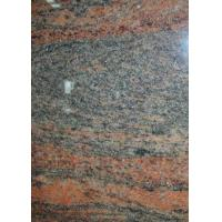 Indian Multicolor Red Granite Floor And Wall Tiles High Density CE Certification Manufactures