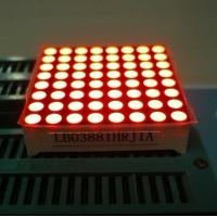 Electronic Video 8X8 Led Dot Matrix led Message Board IC Compatible Manufactures