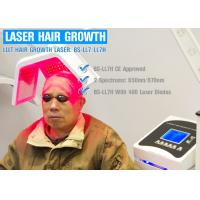 Hair Therapy LLLT Laser therapy Grow Hair with Real Diodes Laser Hair Regrowth Machine