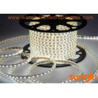 China Epistar Chip Cool White LED Rope Lights , Anti UV PVC Submersible LED Rope Lights on sale